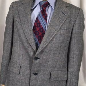 Hart Schaffner Marx Mens Blazer 40R Multi Color